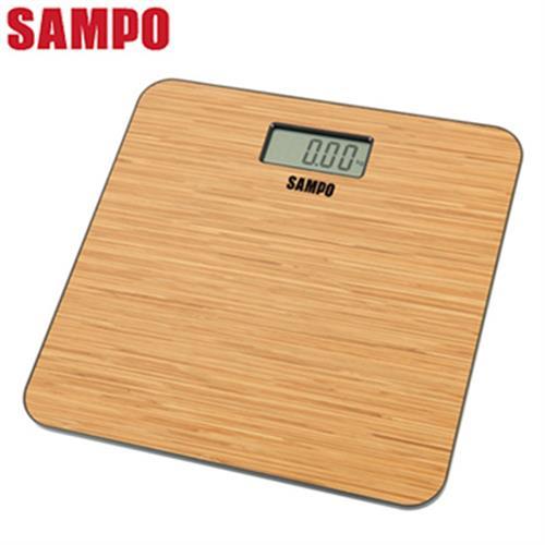 SAMPO聲寶木紋造型電子體重計 BF-L1502ML