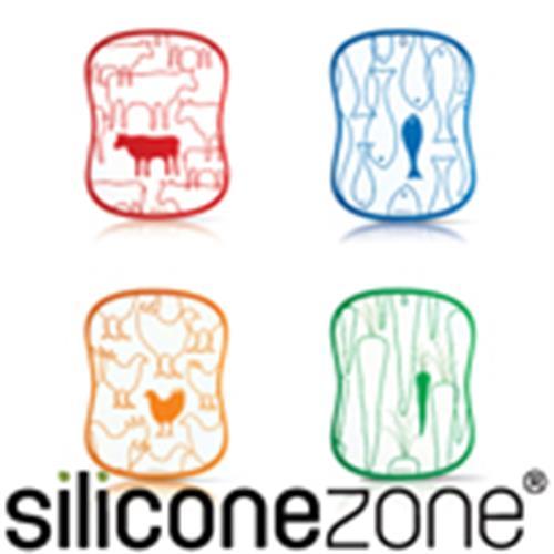 【Siliconezone】施理康四入調理切菜板