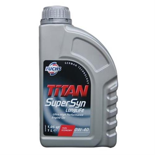 德國 FUCHS 全合成機油 TITAN SuperSyn 0W40