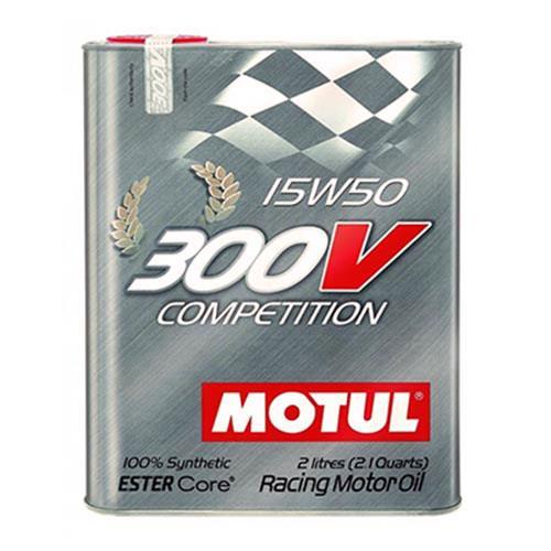 MOTUL 300V POWER RACING 15W50 雙酯基全合成機油