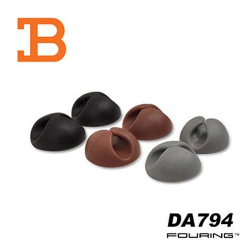 韓國FOURING 黏貼式 固定收線理線器(6入組) DA794