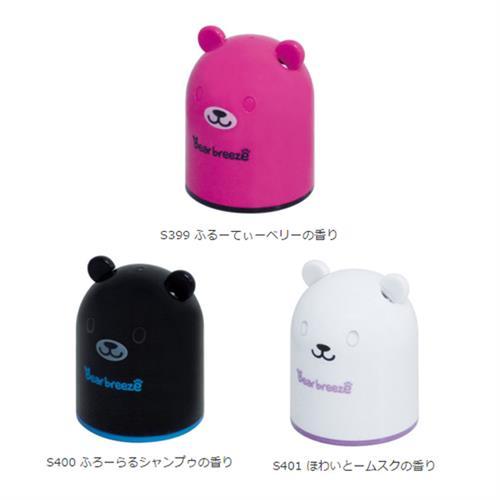 日本SEIWA 小熊造型 固體芳香劑 白麝香 S401