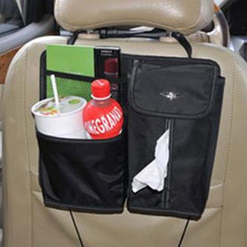 AGR 後座面紙盒飲料置物袋 HY-313