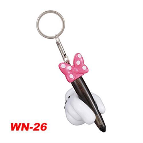 日本NAPOLEX Disney 米妮 靜電鑰匙圈 WN-26