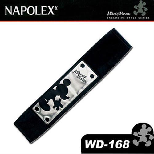 日本NAPOLEX Disney 米奇 安全帶套 WD-168