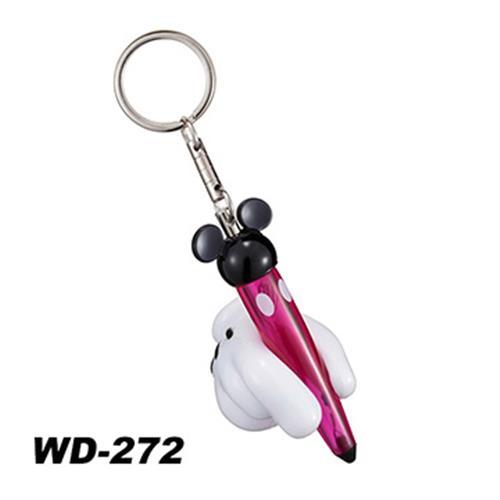 日本NAPOLEX Disney 米奇 靜電鑰匙圈 WD-272