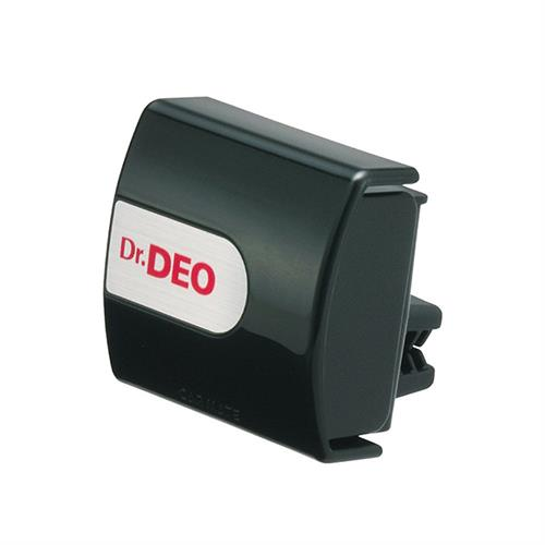 日本CARMATE Dr.DEO 車內出風口夾式 除菌消臭劑 黑色 D175