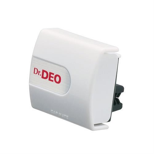 日本CARMATE Dr.DEO 車內出風口夾式 除菌消臭劑 白色 D174