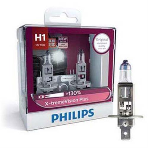 PHILIPS 飛利浦 H1 夜勁光 +亮130% 汽車大燈燈泡