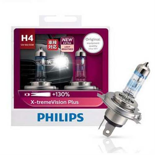 PHILIPS 飛利浦 H4 夜勁光 +亮130% 汽車大燈燈泡