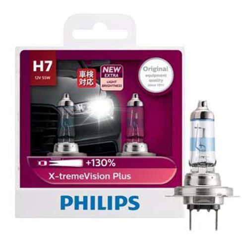 PHILIPS 飛利浦 H7 夜勁光 +亮130% 汽車大燈燈泡