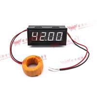 0.56四位元 LED交流電流錶頭 AC100A(黑殼白光)
