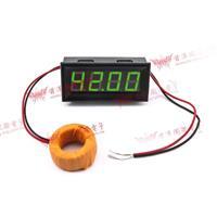 0.56四位元 LED交流電流錶頭 AC100A(黑殼綠光)