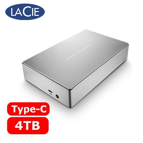 LACIE Porsche Design 3.5吋 4TB Type-C 外接硬碟