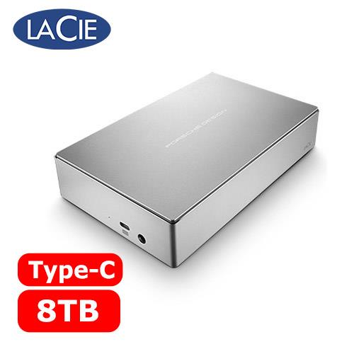 LACIE  Porsche Design 3.5吋 8TB Type-C 外接硬碟