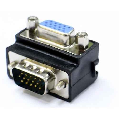 VGA 15P公轉母90度轉接頭