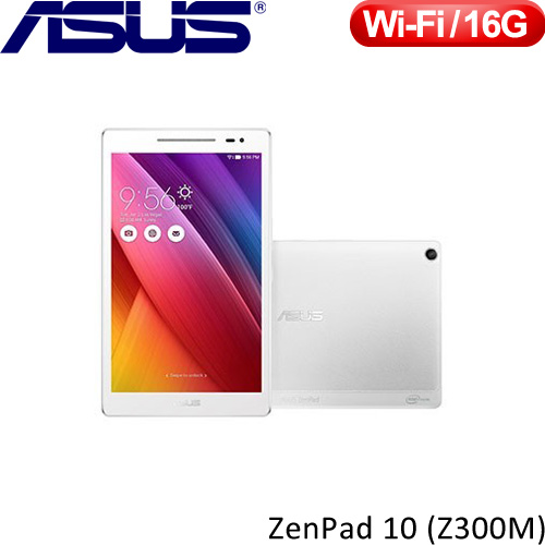 ASUS華碩 10.1吋 ZenPad 10 Z300M 平板電腦 高貴白
