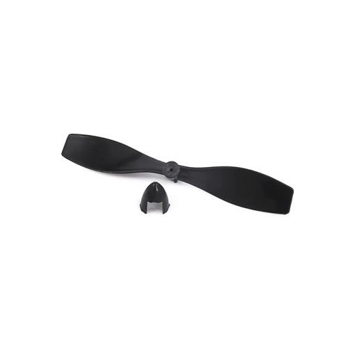 塑膠正反螺旋槳 孔徑1mm-黑(2入)