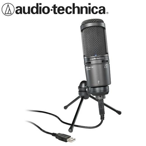 audio-technica 鐵三角 AT2020USB+ 靜電型電容式麥克風
