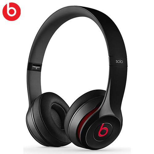 Beats Solo2 耳罩式耳機麥克風 黑