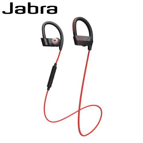 Jabra Sport Pace 入耳式運動藍牙耳麥-紅