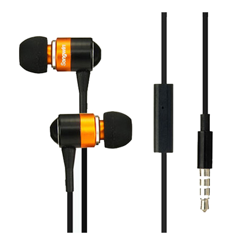 尚之宇 S300 耳機麥克風 橘