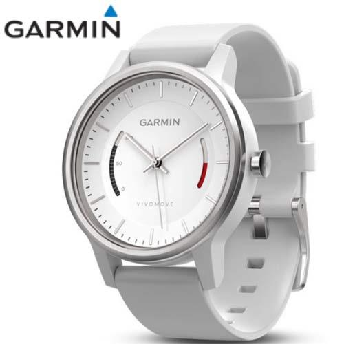 Garmin vivomove 智慧指針式腕錶(運動款─律動白)