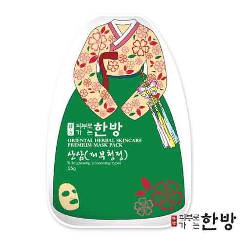韓服-野山蔘毛孔清潔草本面膜(1入)