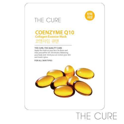 韓國THE CURE Q10膠原蛋白精華面膜(1片)