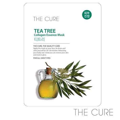 韓國THE CURE 茶樹膠原蛋白精華面膜(1片)
