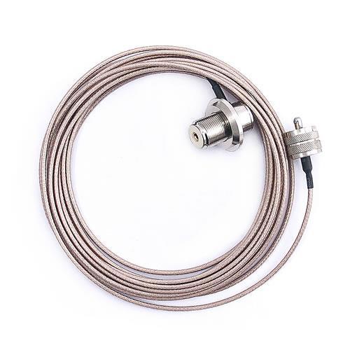 無線電傳輸專用車機線-UHF公對UHF母(4M)