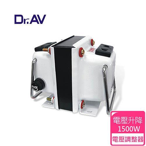 【Dr.AV】GTC-1500 專業型升降電壓調整器(專業型)