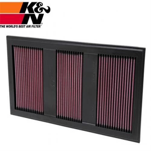 K&N 高流量空氣濾芯 33-2985 BENZ  C300