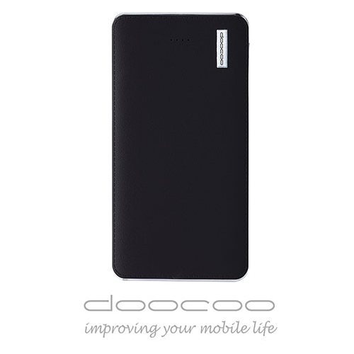 doocoo iPelle 12000+ 2.1A 雙輸出智能行動電源 (支援快速充放電) - 黑色