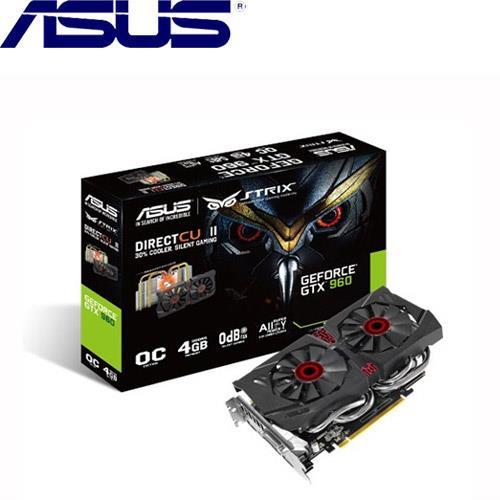 【福利品出清】ASUS STRIX-GTX960-DC2OC-4GD5顯示卡