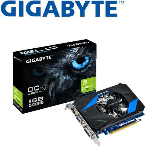 GIGABYTE技嘉 GeForce® GV-N730D5OC-1GI 顯示卡