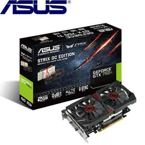 ASUS華碩 GeForce® STRIX-GTX750TI-OC-2GD5 顯示卡