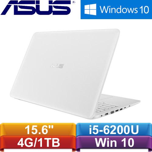 ASUS華碩 X556UR-0053G6200U 15.6吋筆電 白<福利機>