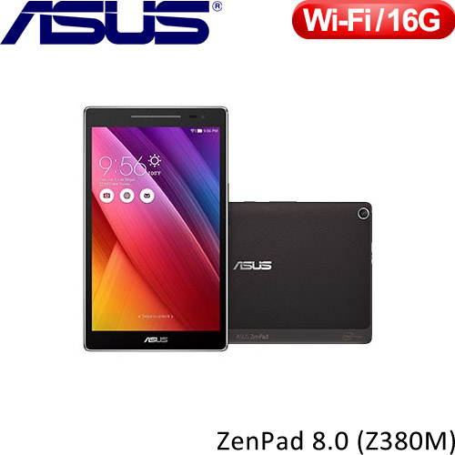 ASUS華碩 8吋 ZenPad 8.0 Z380M 平板電腦 迷霧黑【送ZenPad 充電背蓋】