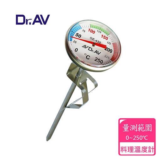 【Dr.AV】平底鍋專用 溫度計(GE-430)