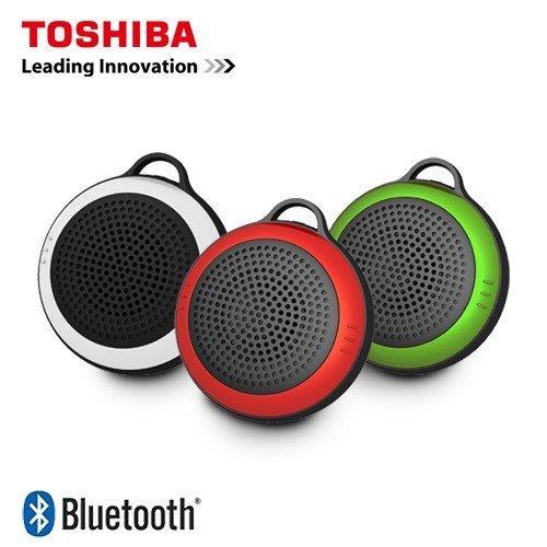 【網購獨享優惠】【TOSHIBA東芝】玩色隨身藍牙喇叭TY-WSP21TW