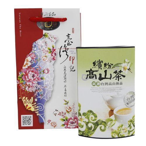 台灣極品繽紛高山烏龍熟香袋茶10包入/罐