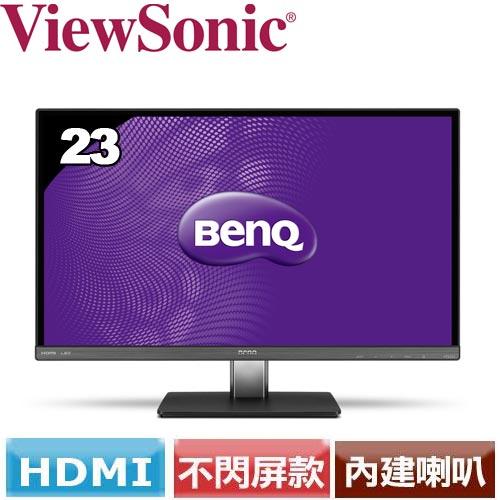 R1【福利品】BENQ 明基 VZ2350HM 23型AH-IPS不閃屏螢幕