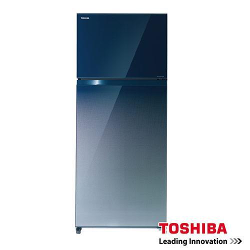 TOSHIBA東芝 變頻無邊框玻璃電冰箱 GR-HG52TDZ(GG) 漸層藍