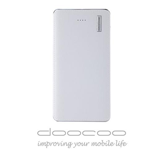 doocoo iPelle 12000+ 2.1A 雙輸出智能行動電源 (支援快速充放電) - 白色