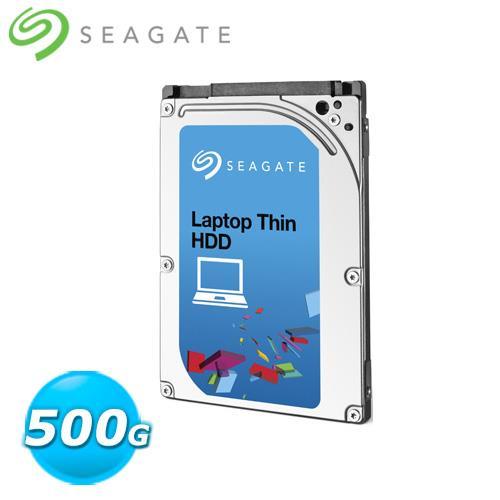 Seagate Momentus Thin 500GB 2.5吋硬碟  ST500LM02