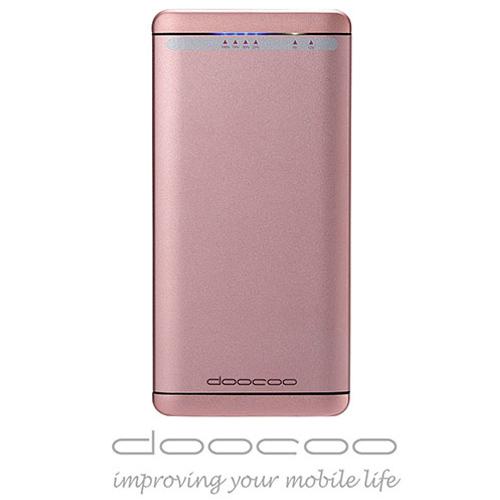 doocoo iFast 8500+ 雙向閃充 智能行動電源 (支援Type C) - 玫瑰金