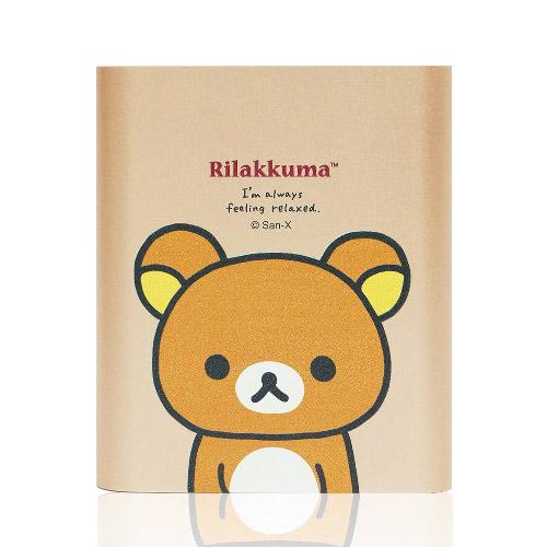 拉拉熊 10400series 正版授權 行動電源-金色大頭