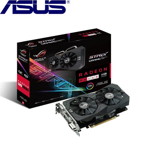 ASUS華碩 STRIX-RX460-O4G-GAMING 顯示卡