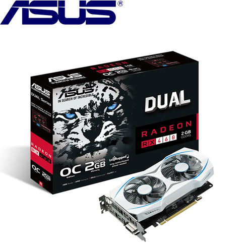 ASUS華碩 DUAL-RX460-O2G-GAMING 顯示卡